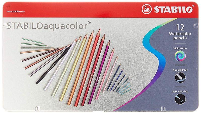 12-matite-acquerellabili-stabiloaquacolor