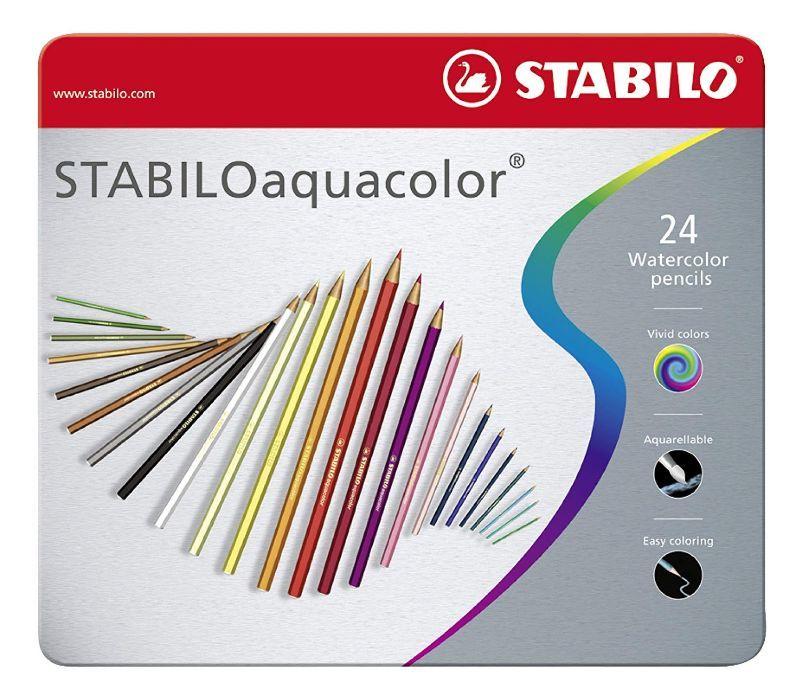 24-matite-acquerellabili-stabiloaquacolor
