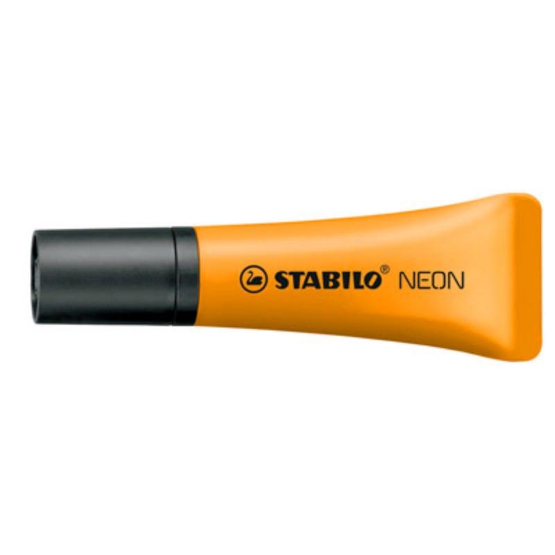 evidenziatori-stabilo-neon-arancio