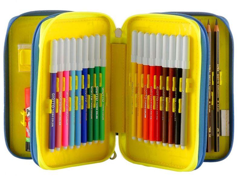 astuccio-3-zip-seven-pen-pad-grigio-e-arancione