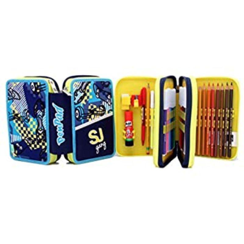 astuccio-3-zip-seven-sj-gang-zip-boy-giallo-blu