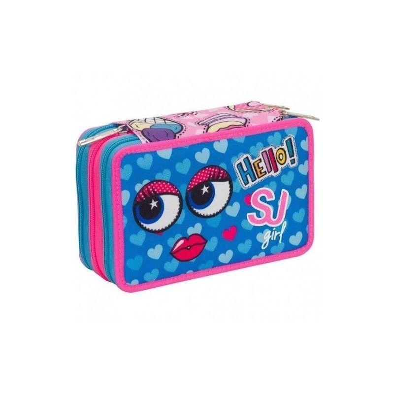 astuccio-3-cerniere-sj-gang-girl-rosa-blu