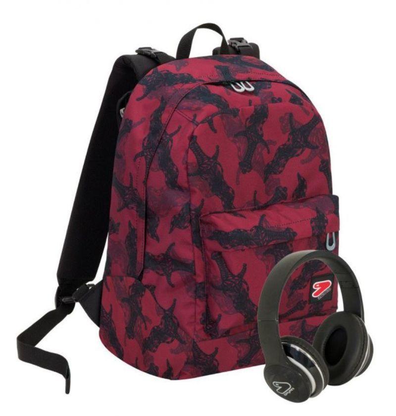 zaino-seven-reversible-backpack-dagger-rosso-con-spade