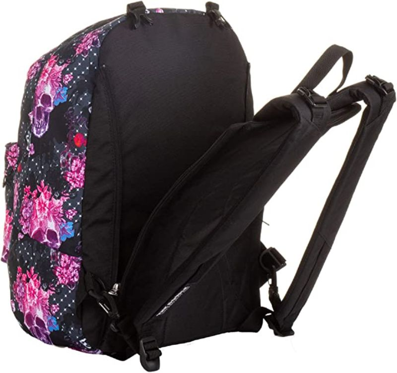 zaino-seven-reversible-backpack-queen-crown-nero-fantasia-fiori