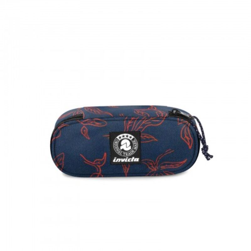 astuccio-invicta-ovale-lip-pencil-bag-blu-con-foglie-arancio