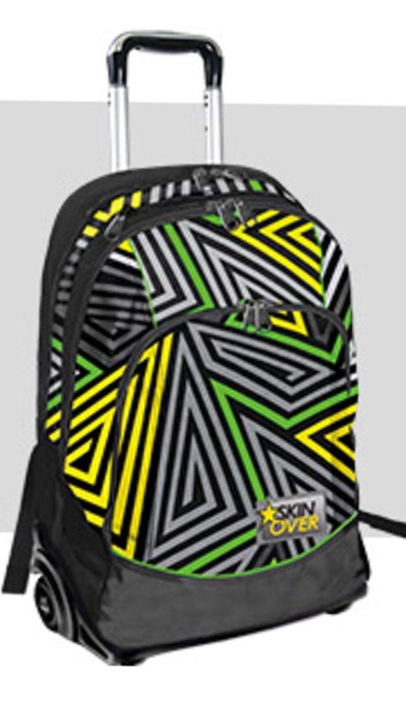 trolley-skin-over-geometrico-grigio-nero-giallo-e-verde